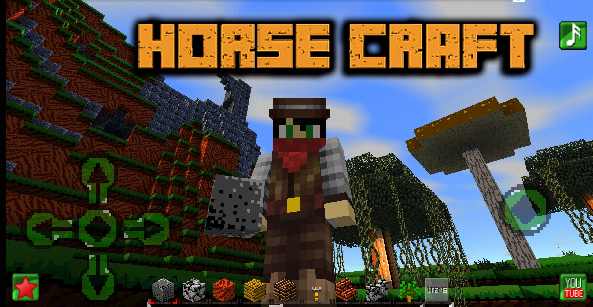Download HORSECRAFT : Survival and Crafting Game APK - For Android/iOS 8