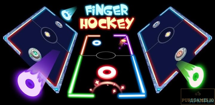 Finger Glow Hockey