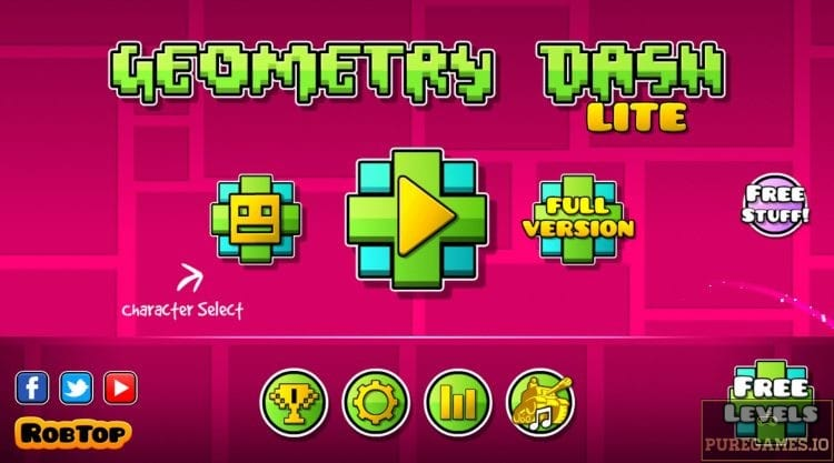 Download Geometry Dash Lite Apk For Android Ios Puregames