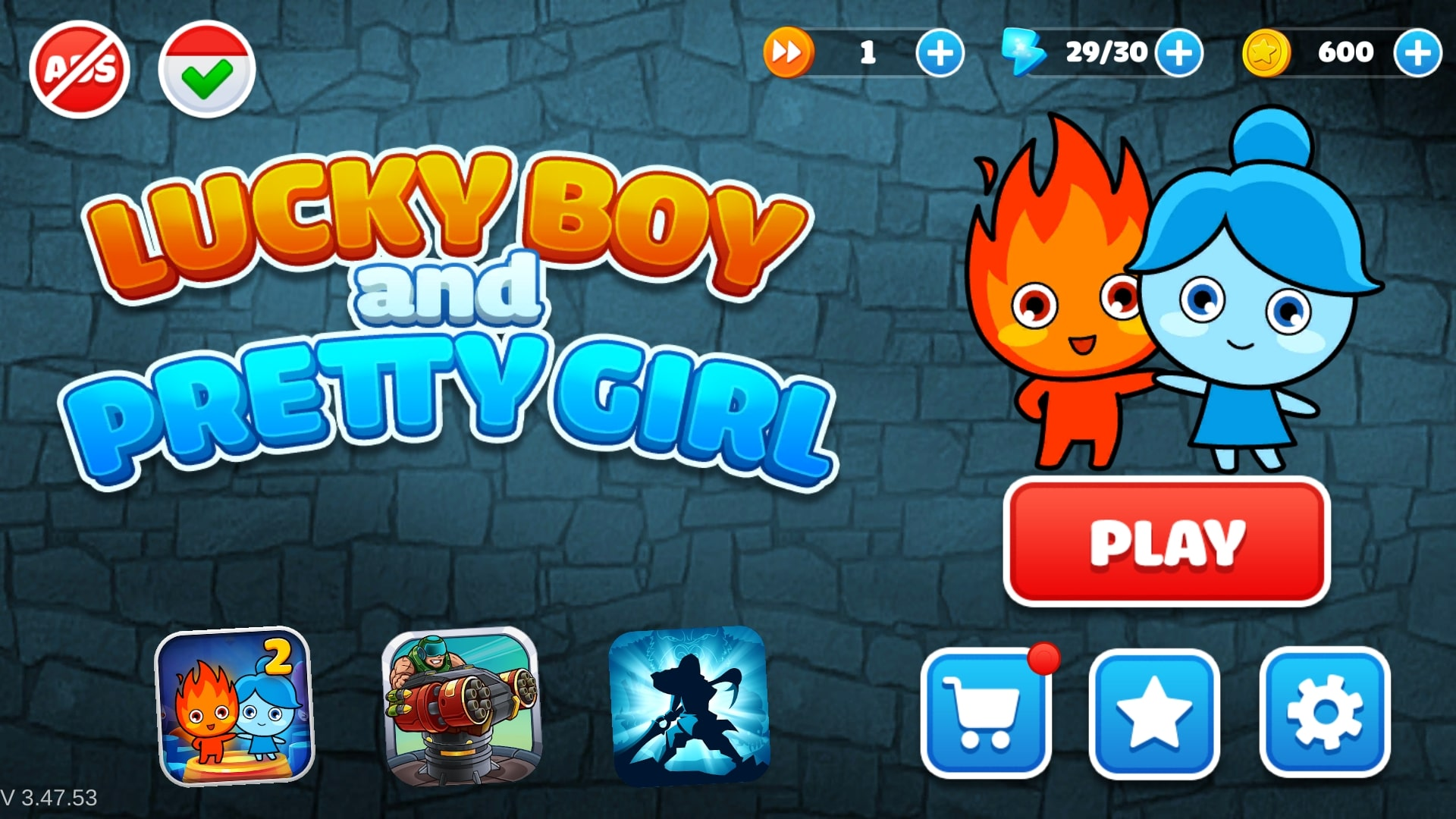 Download LuckyBoy and PrettyGirl - Crystal Temple Maze APK - For Android 9