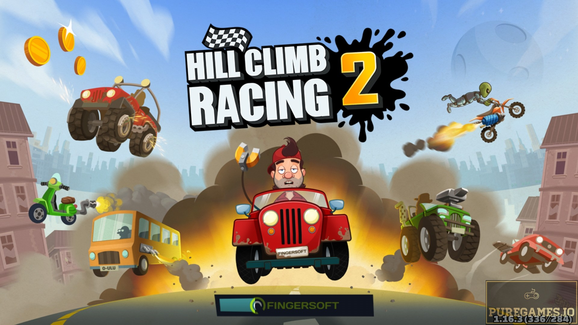 Download Hill Climb Racing 2 APK - For Android and iOS 3