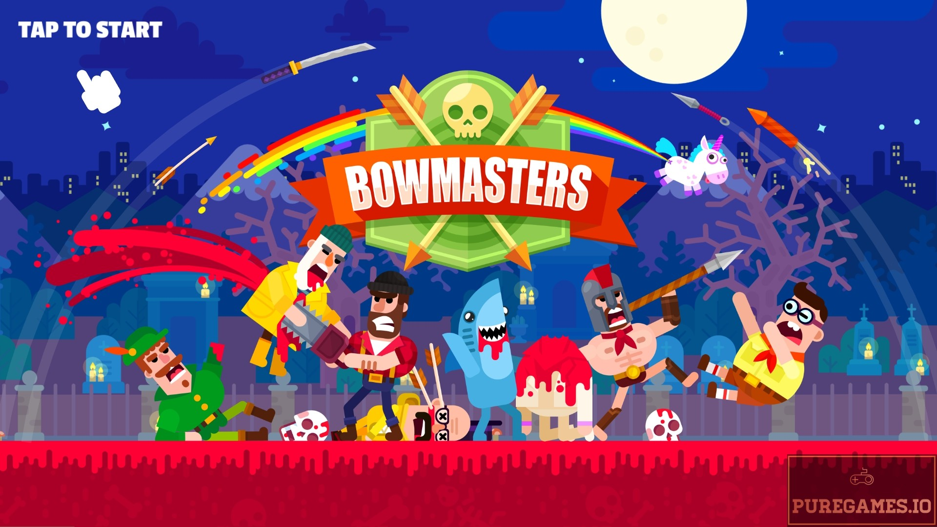 Download Bowmasters APK - For Android/iOS 1