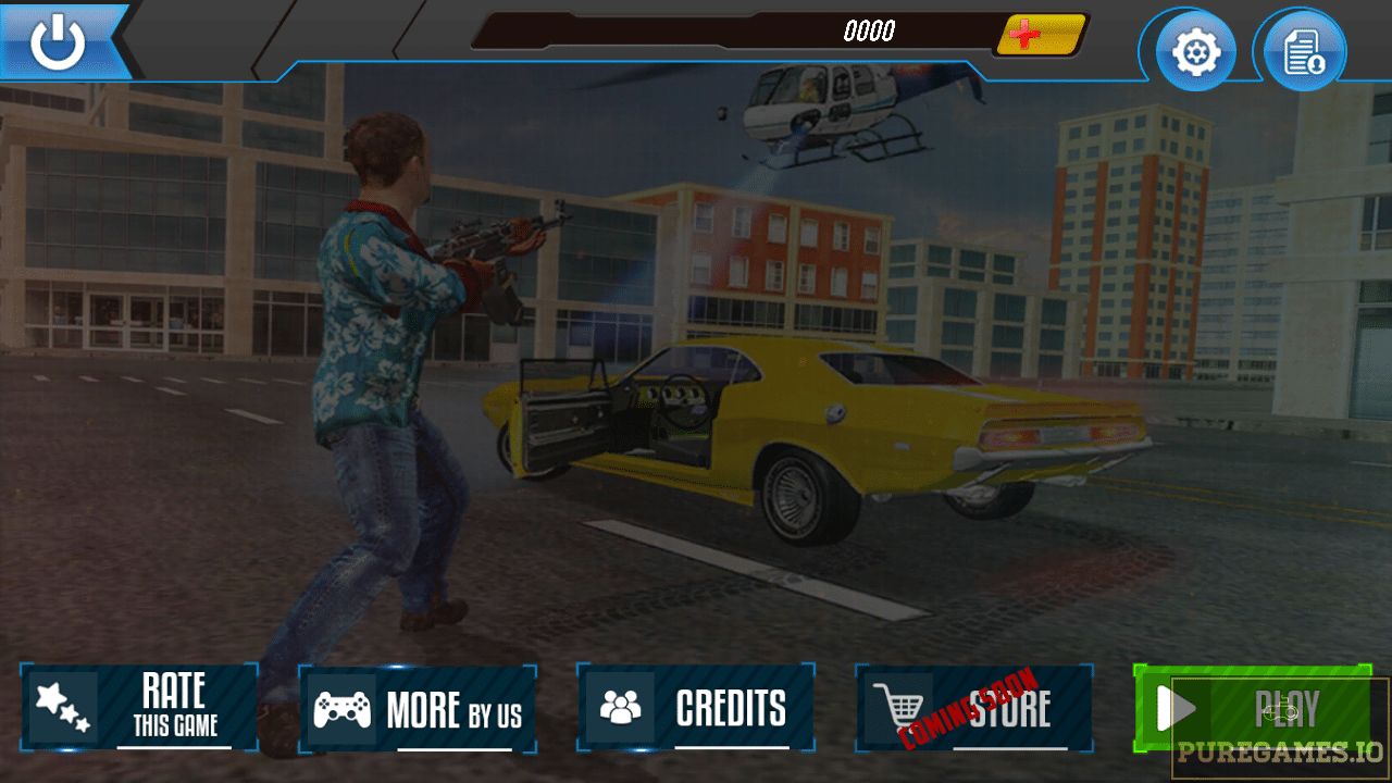 Crime Cars Street Driver: Gangster Games 2018