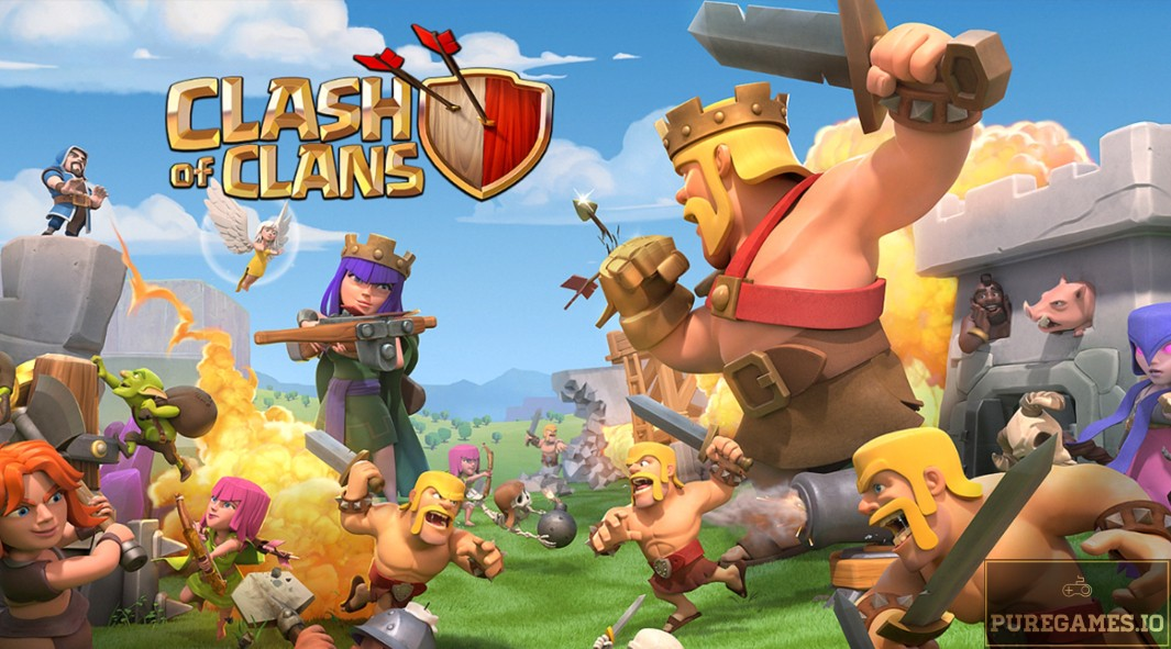 Download Clash of Clans APK - For Android/iOS 13