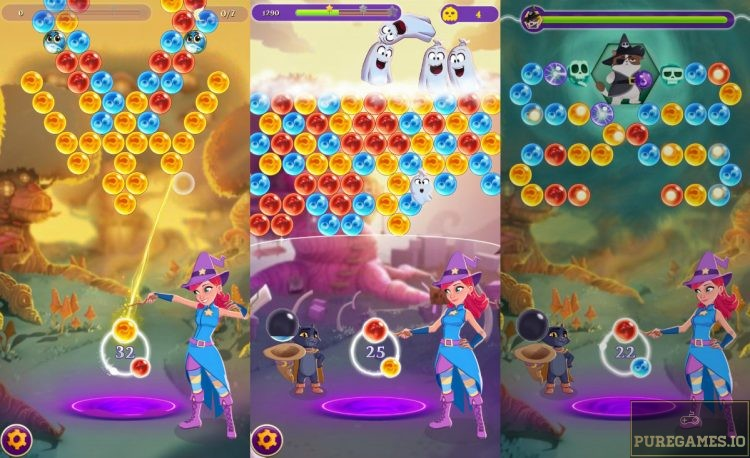 Download Bubble Witch 3 Saga Mod Apk For Android Ios Puregames