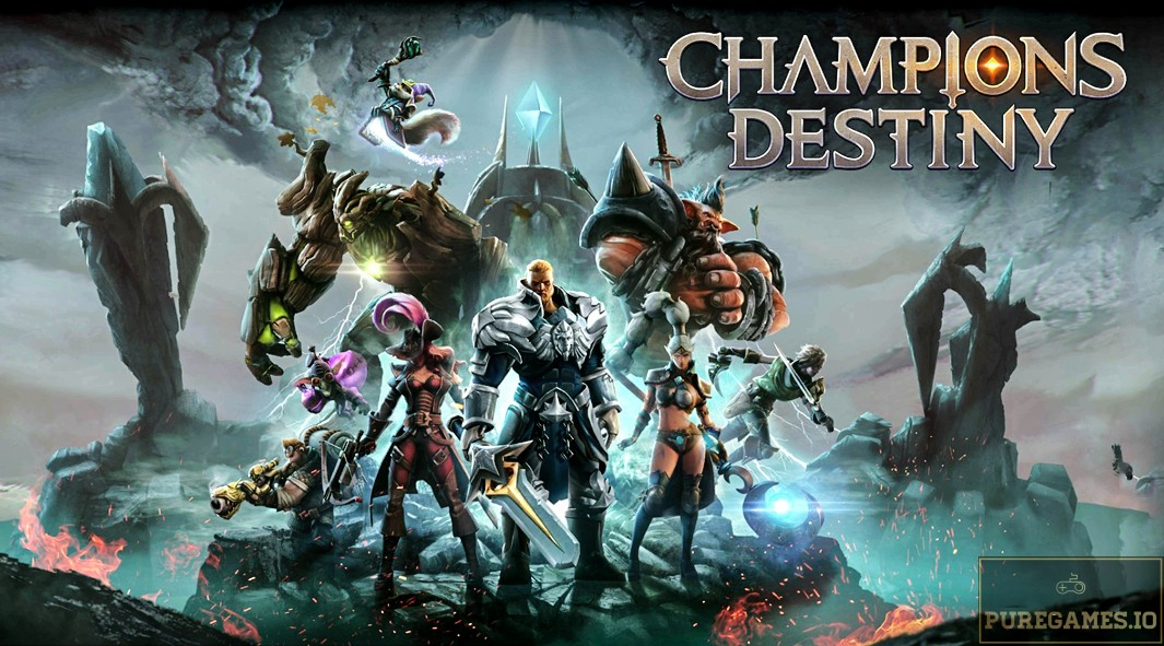Download Champions Destiny: MOBA Heroes MOD APK - For Android/iOS 10