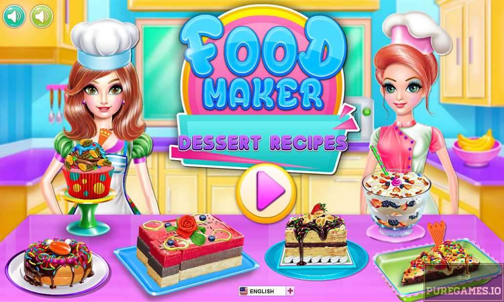 Food maker - dessert recipes