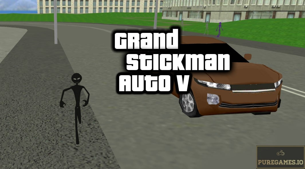 Download Grand Stickman Auto V MOD APK - For Android/iOS 3