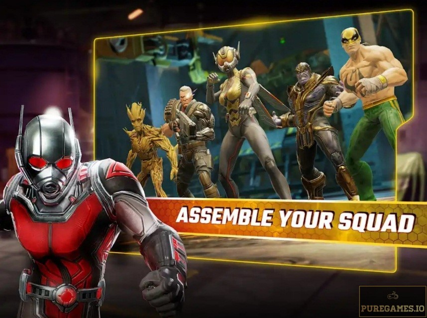 Download MARVEL Strike Force MOD APK for Android/iOS 2