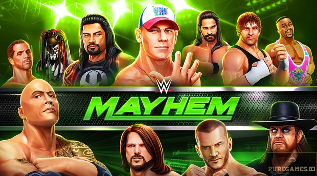 Download WWE Mayhem MOD APK - For Android/iOS 7