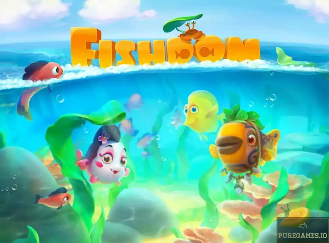 Download Fishdom MOD APK for Android/iOS 8