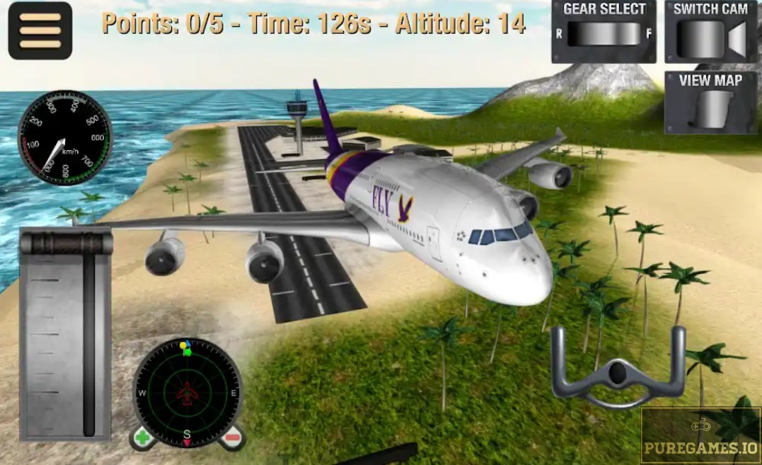 Download Flight Simulator: Fly Plane 3D MOD APK for Android/iOS 6