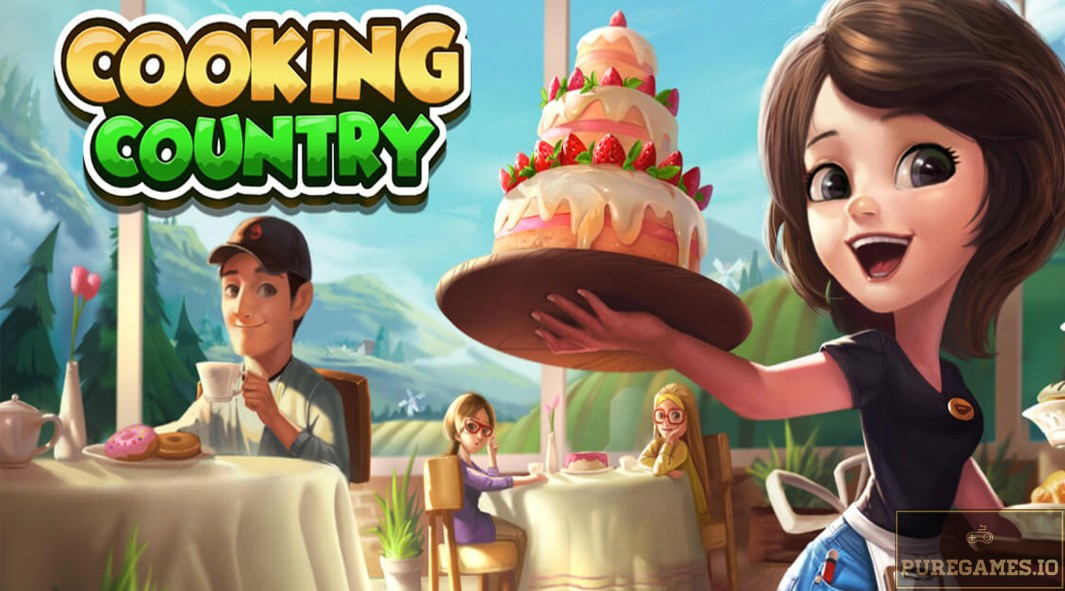 Download Cooking Country - Design Cafe MOD APK - For Android/iOS 12