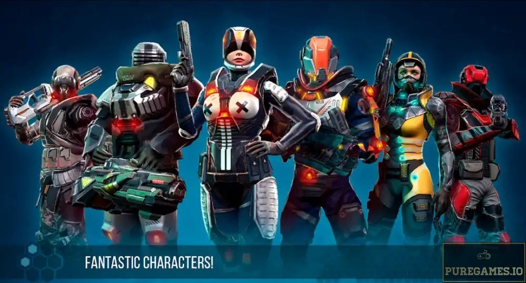 Download Infinity OPS: Sci-Fi FPS mod apk for Android 10
