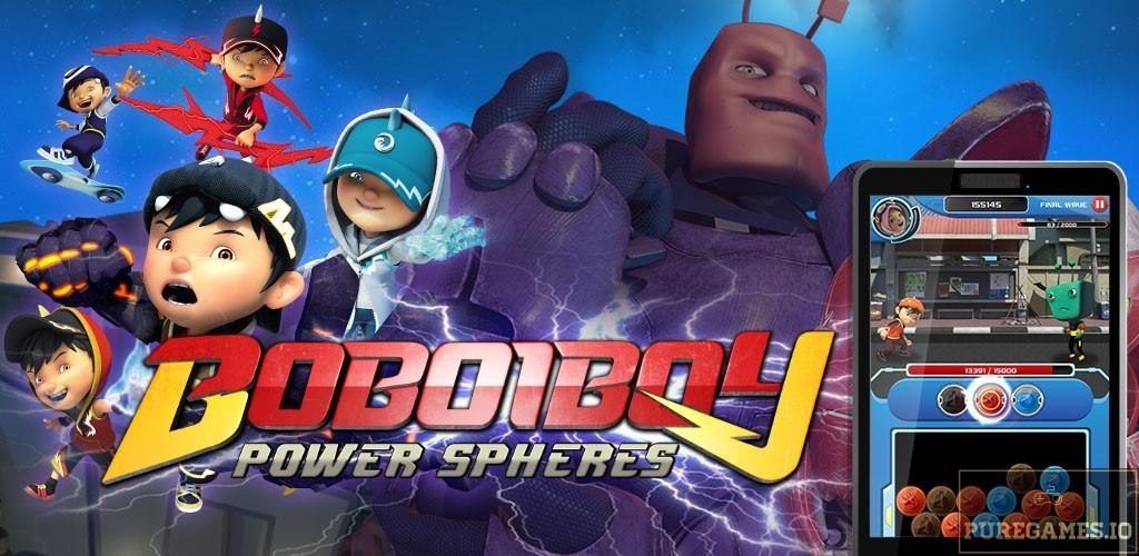 Download Power Spheres by BoBoiBoy APK for Android/iOS 5