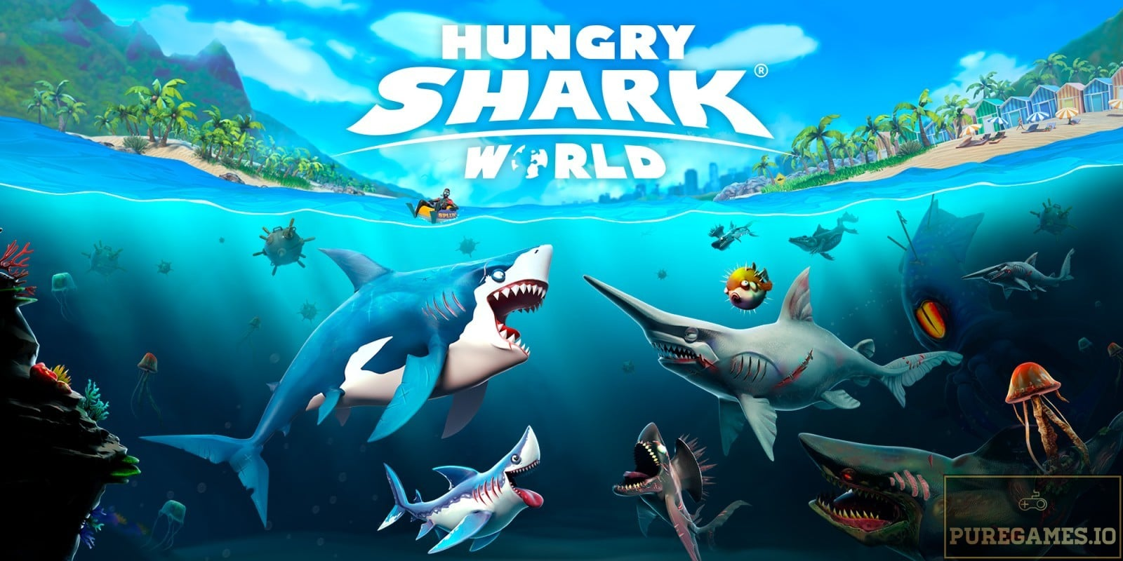 Download Hungry Shark World – For Android/iOS 8