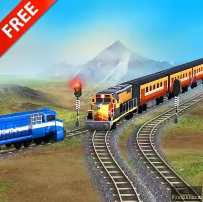Download Train Racing Games 3D 2 player mod apk for Android 13