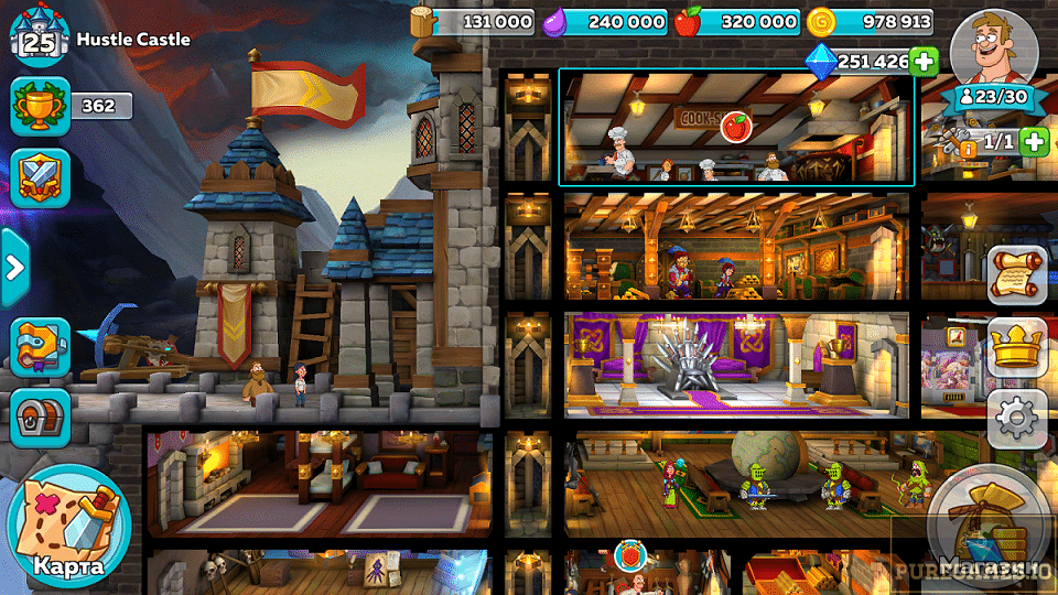 Download Hustle Castle: Fantasy Kingdom APK for Android/iOS 9