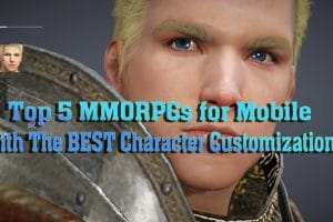 Top 5 MMORPGs for Mobile With The BEST Character Customization 4