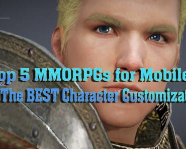Top 5 MMORPGs for Mobile With The BEST Character Customization 5