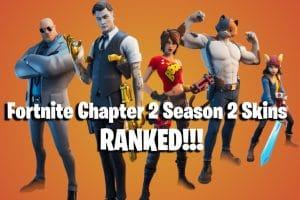NEW Fortnite Chapter 2 Season 2 Skins RANKED! 8