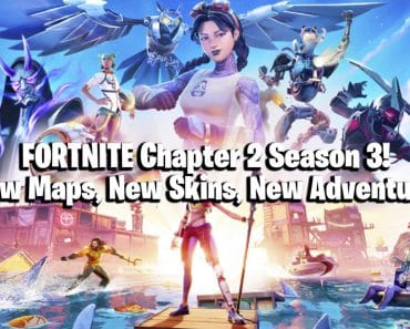 Fortnite Chapter 2 Season 3 is Here! New Maps, New Skins, New Adventure! 2