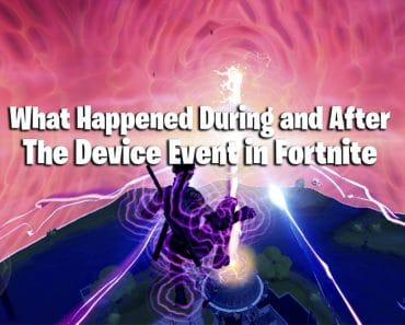 Fortnite Update: What Happened During and After The Device Event 5