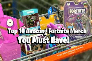 Top 10 Amazing Fortnite Merchandise Items You Must Have 6